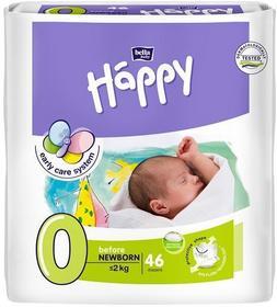 Bella Happy 0 Before Newborn 0-2 kg 46 szt.