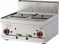 Opinie o RM Gastro Frytownica podwójna gazowa top F2/8T - 66 G