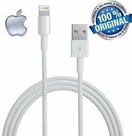 Apple Oryginalny Biały Kabel Lightning 2m iPhone 5 5C 5S / iPhone 6 4.7 / iPhone