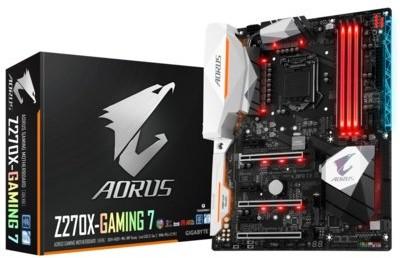 Opinie o Gigabyte GA-Z270X-Gaming 7 Aorus
