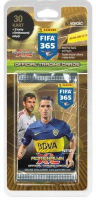Panini Kolekcja FIFA 365, blister z kartami P-06863