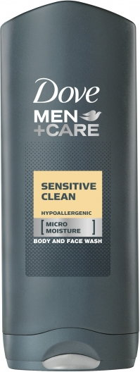 Clean Men Care Sensitive Clean 250ml