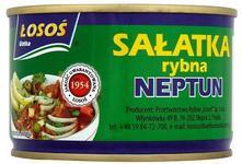 Neptun Sałatka rybna 170 g Łosoś Ustka