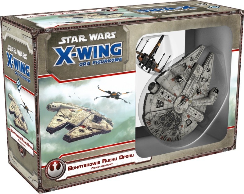 Galakta Star Wars X-Wing Bohaterowie Ruchu Oporu