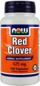 Now Foods Red Clover 375mg 100 szt.