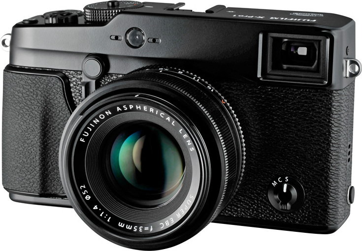 Fuji X-Pro1 + 35 mm czarny