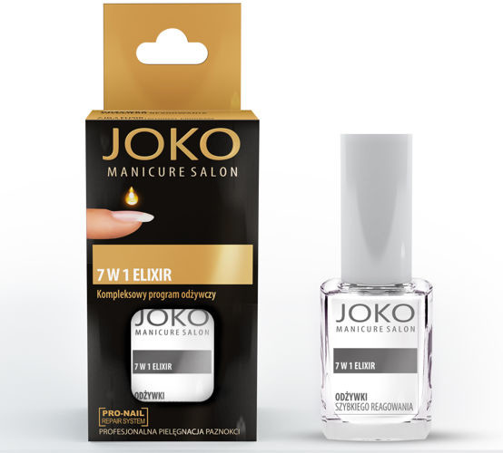 JOKO Manicure Salon Odżywka do paznokci 7w1 Eliksir odżywczy 10 ml