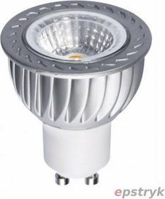 Spectrum Żarówka LED GU10 230V 6W COB 38 st WW (ciepła biała) z szybką WOJ+12938