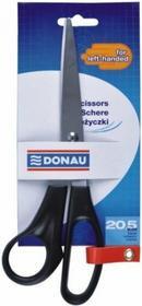 Donau Artykuły Biurowe Nożyczki 20,5 cm dla leworęcznych J0636