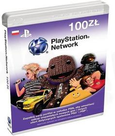 Playstation Network 100 zł