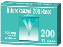 Hasco-Lek Nifuroksazyd 200mg 12 szt.