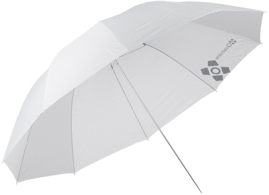 Quadralite parasolka biała przezroczysta 150cm 4389