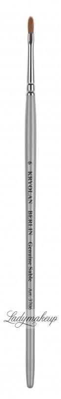 KRYOLAN Professional Brush 6 - Pędzel do ust - ART. 3706