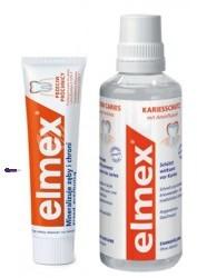 Gaba International SET Przeciw Próchnicy U) płyn do płukania ust 400ml + pasta do zębów 75ml