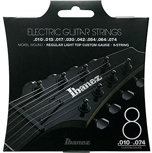 Ibanez iegs81gitara elektryczna komplet strun (Nickel Wound, 8-String, 010074 IEGS8