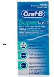 Oral-B Super Floss U) nić dentystyczna 50 odcinków