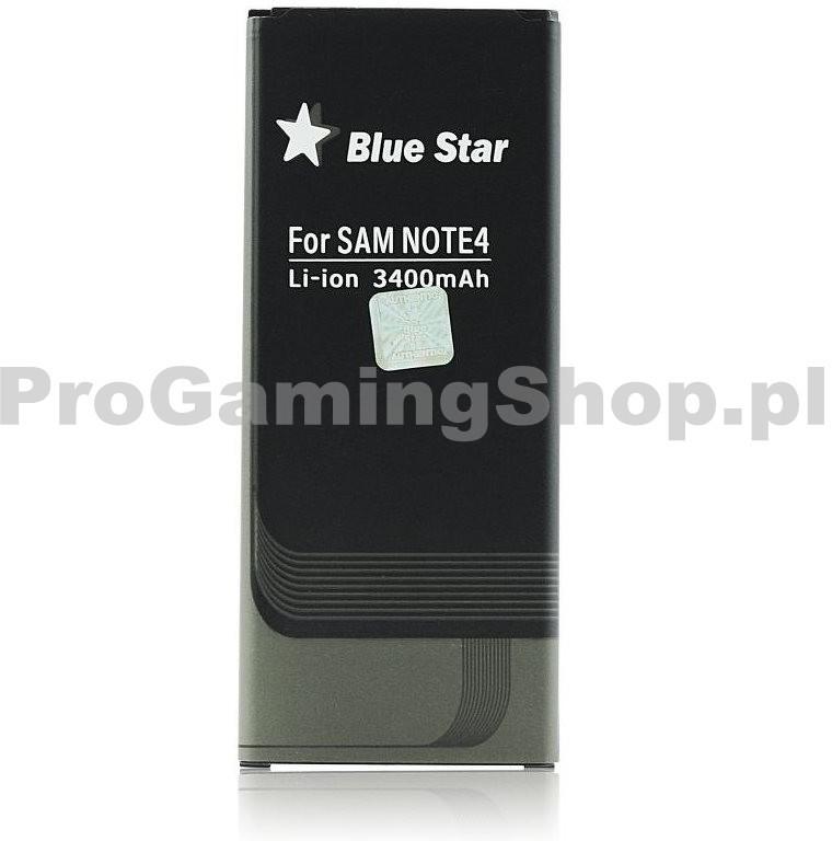 QualityAcessories BlueStar Premium Bateria do Samsung Galaxy Note 4-N910F 3400 mAh)