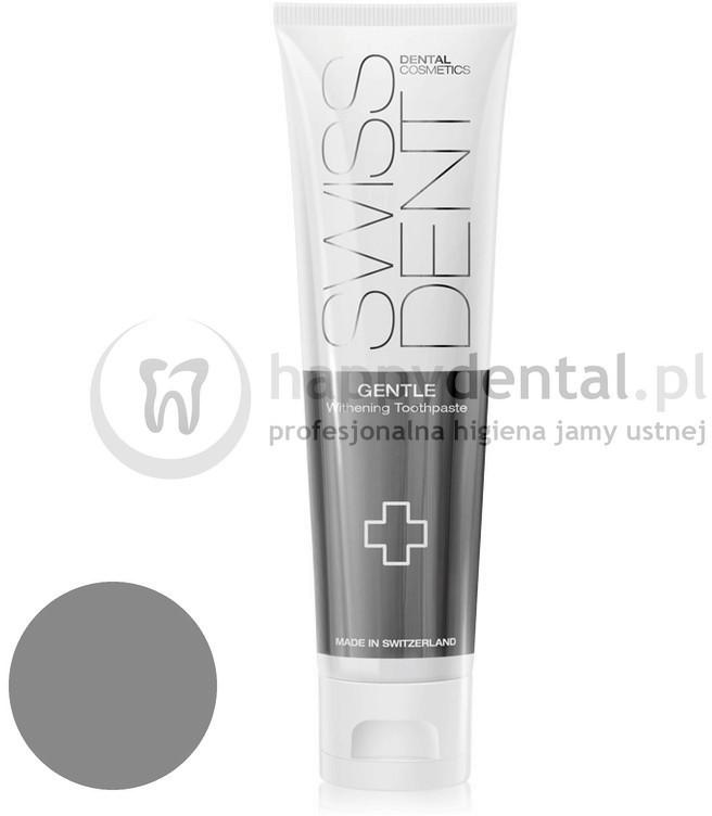 Swissdent Cosmetics Toothpaste GENTLE 100ml (DUŻA) - delikatnie wybiel