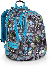 Topgal Plecak szkolny CHI 701 C - Grey