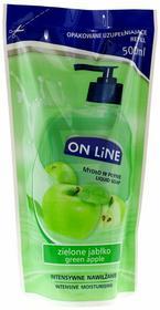 On Line mydło w płynie Jabłko zapas 500ml