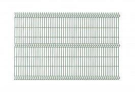 Polbram panel ogrodzeniowy 3D zielony ocynkowany 172x250 cm, oczko 50x200 mm, śr