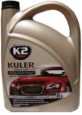 Płyn do chłodnicy Kuler koncentrat zielony 5 litrów K2T215Z 1:1