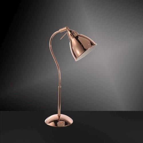 Leuchten Direkt Leuchten-Direkt SKELETTON lampa stołowa Miedź, 1-punktowy - Design/Vintage/Przemysłowy/Lokum dla młodych/Loft - Obszar wewnętrzny - SKELETTON - Czas dostawy: od 2-4 dni roboczych 1102 (11024-20)