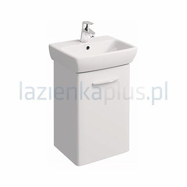 Koło Zestaw meblowy 45 cm umywalka z szafką biały połysk Nova Pro M39024000