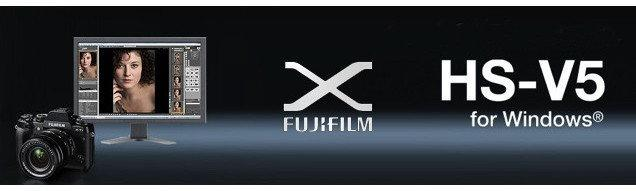 FujiFilm Tethered Shooting Software HS-V5 do X-T1