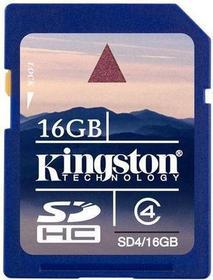 Kingston SDHC Class 4 16GB