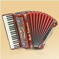 Paolo Soprani Super King (3+1) 41/4/11+M 120/5/7 Musette CASSOTTO akordeon