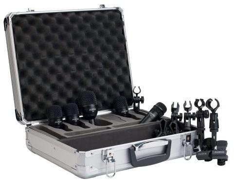Audix FP-5zestaw do zestawów drum mikrofonu z 5mikrofonami FP5
