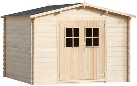 vidaXL vidaXL Domek gospodarczy drewniany 3x3m ściany grubości 28mm