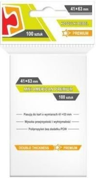 Rebel Koszulki Mini American Premium 41x63 (100szt) (231968)