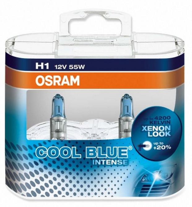 OSRAM H1 12V 55W P14,5s COOL BLUER Intense