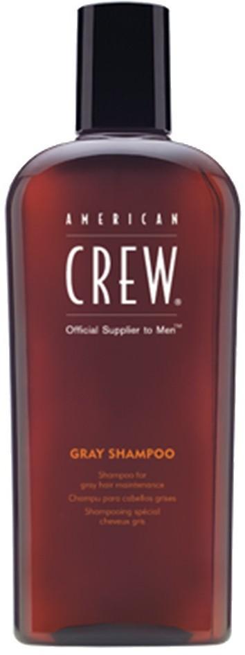 American Crew Classic Gray Szampon do włosów siwych dla mężczyzn 250ml
