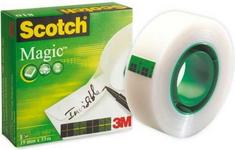 Opinie o Scotch TAŚMA KLEJĄCA 3M MAGIC TAPE W ROLCE (0B) FT510060393