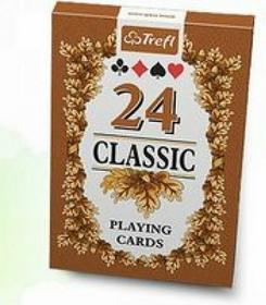K10245 Karty do gry - 24 listki, Classic