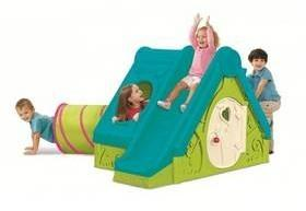 Playhouse domek dla dzieci Keter Funtivity Niebieski/Zielony