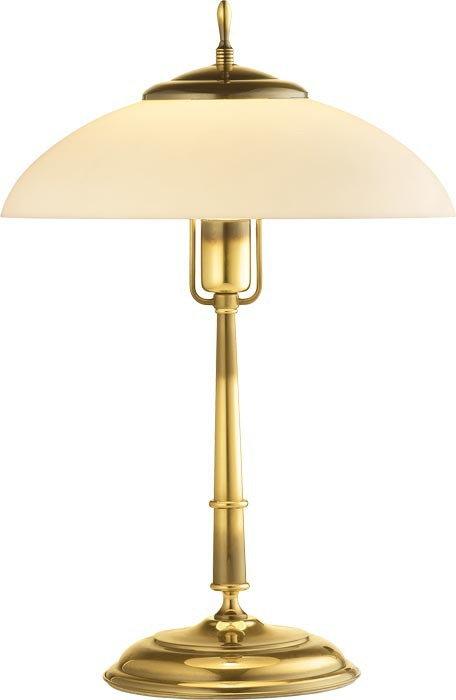 Amplex Onyx 326 lampa gabinetowa Złoto/opal 60W E27