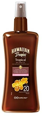 Hawaiian Tropic Protective Dry Spray Oil LSF 15, 200ML 84782