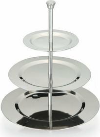 Excellent Houseware EH Okrągła Patera ze stali nierdzewnej  3 poziomy 871129583