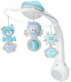 B-Kids Karuzela muzyczna Projektor i Lampka nocna niebieska 3w1 4896