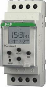 F&F Pabianice Zegar sterujący astronomiczny 2-kanał PCZ-526
