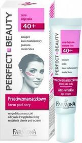Farmona Perfect beauty 40+ przeciwzmarszczkowy krem pod oczy 15ml