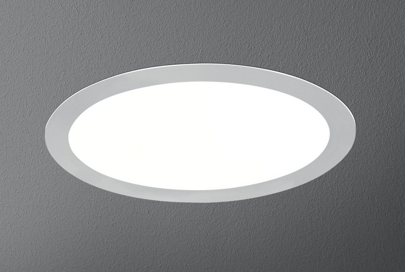 Aquaform RING LED WW ALU ciepła biel Oświetlenie LEDowe do wbudowania 37921-01