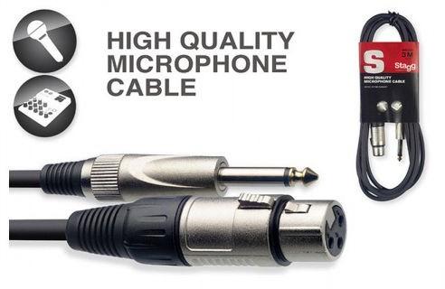 STAGG SMC6XP kabel mikrofonowy 6m