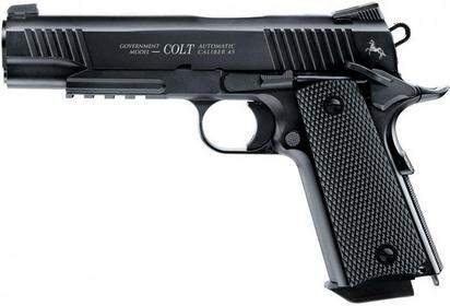 Umarex Wiatrówka Colt 1911 M45 CQBP Blow Back 4,5 mm Black (5.8176)
