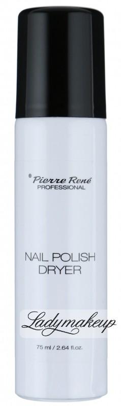 Pierre Rene Pierre René - NAIL POLISH DRYER - Wysuszacz do lakieru w sprayu PR76631