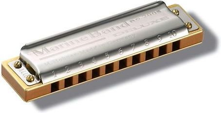 Hohner Marine Band Deluxe Bb-dur